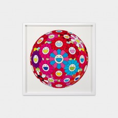 Flowerball(3D)-Blue, Red