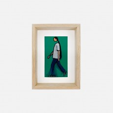 [SOLD OUT] Kris Walking, 2010 (Lenticular Postcard)