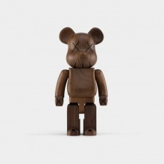 [SOLD OUT] KAWS BWWT 400% Wooden Bearbrick, 2005