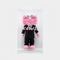 KAWS BFF × Dior Plush Pink, 2019
