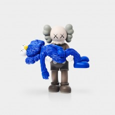 KAWS Gone (Brown and Blue), 2019
